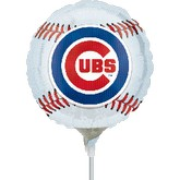 "9"" Airfill Only Chicago Cubs Ball"