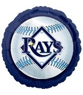 "18"" MLB Tampa Bay Rays Baseball"