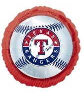 "18"" MLB Texas Rangers Baseball Balloon"