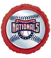 "18"" MLB Washington Nationals Baseball"