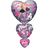 "36"" SuperShape Barbie Vday Stacker"