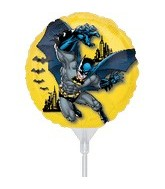 "9"" Mini Balloon (Airfill Only) Batman"