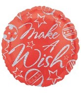 "18"" Make a Wish Christmas Balloon"