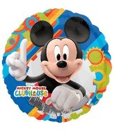 "18"" Mickey Mouse Clubhouse Gear Pattern"