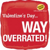 "18"" Smarty Pants Valentine's Way Overrated"