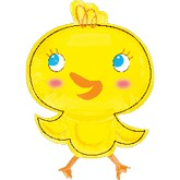 "31"" Easter Chick Shape Balloon"