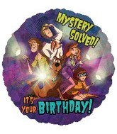 "18"" Scooby Doo Birthday Mystery Solved!"