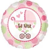 "18"" Es Niña (Baby Girl Spanish)"