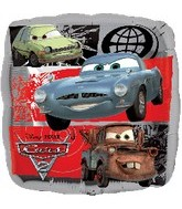 "18"" Disney Cars Movie 2 Mylar Balloon"