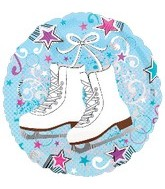 "18"" Ice Skates Balloon"