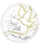 "18"" Peace on Earth Balloon"