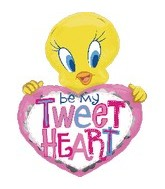 "30"" Tweety Be My Tweet Heart"