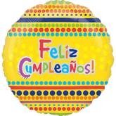 "18"" Happy Birthday Banners Mylar Balloon"