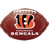 Junior Shape Cinncinnati Bengals Football