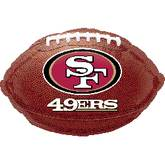 Junior Shape San Francisco 49ers Football