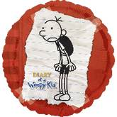 "18"" Diary of a Wimpy Kid Red Boarder Balloon"