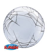 "24"" Deco Bubble Spider'S Web"
