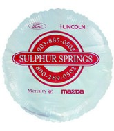 "18"" Sulphur Springs Promotional Balloon"