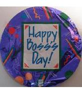"18"" Happy Boss&#39s Day Purple"