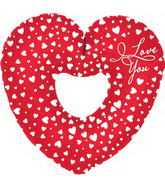 "31"" I Love you Cascades Shape-A-Loon"