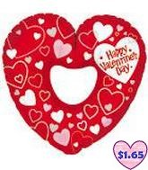 "31"" Happy Valentine&#39s Day Simply Hearts"