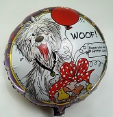 "18"" Feel Better Woof Balloon"